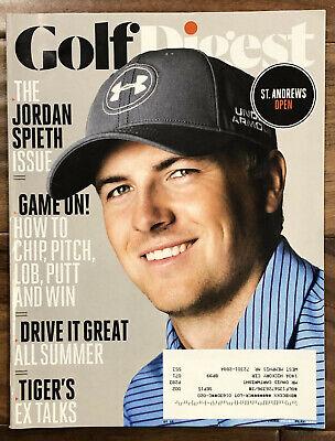 Golf Digest Magazine Jordan Spieth Cover July 2015 FREE SHIPPING