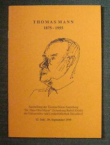 Ausstellungskatalog Thomas Mann, Düsseldorf 1995 - <span itemprop=availableAtOrFrom>Wien, Österreich</span> - Ausstellungskatalog Thomas Mann, Düsseldorf 1995 - Wien, Österreich