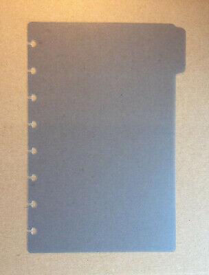 Levenger Circa Discbound Blue Junior Tab Divider