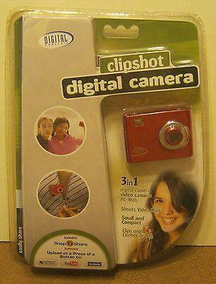 2008 SAKAR Clipshot Digital Camera NEW in Blister Pack!!!! Sakar Pack