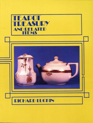 Railroad Pottery China Teapots - Types Makers Dates / Scarce Ltd. Ed. Book
