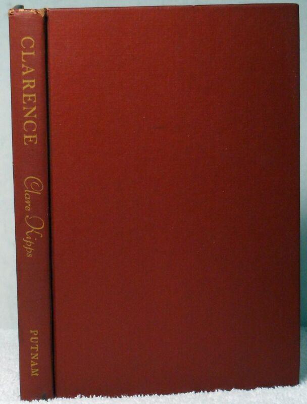 1954 Book CLARENCE THE LIFE OF A SPARROW Kipps Pet Bird Ornithology 1st Edition