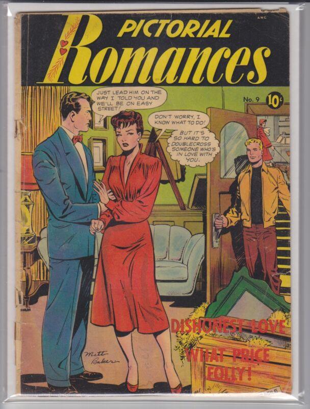 PICTORIAL ROMANCES # 9