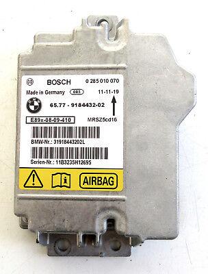 Genuine Used BMW MINI Airbag Control Unit for R50 R52 R53 E82 E90 E92 - 9184432