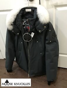 Moose Knuckles Canuck Bomber XL (New Tags)