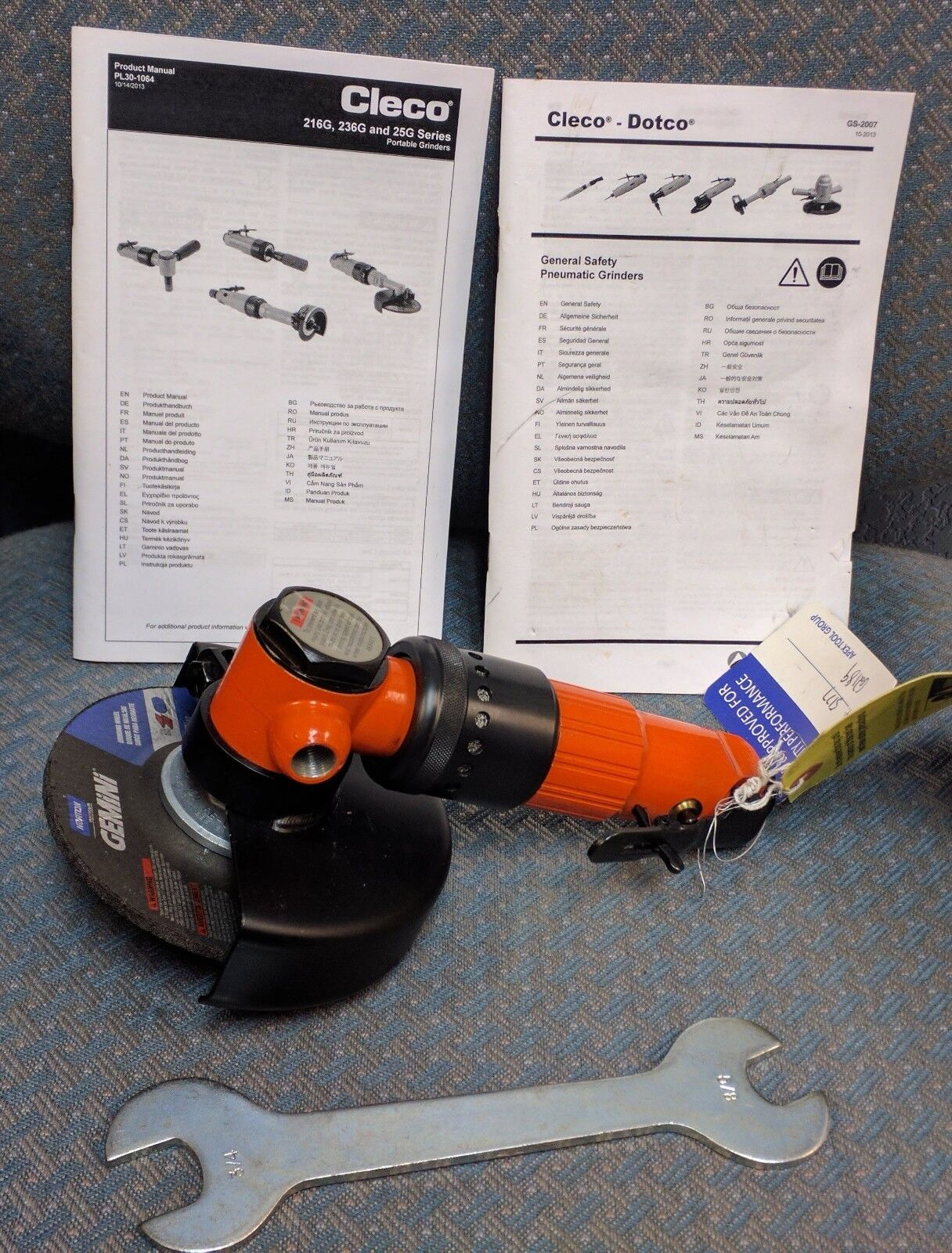 Cleco RIGHT ANGLE GRINDER 236GLS-115-D5T45