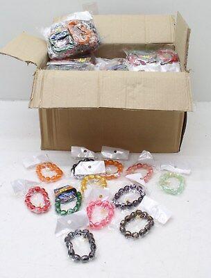 NEW Wholesale Job Lot 360 Pcs Buddha Large Bead Bracelets Individually Packed