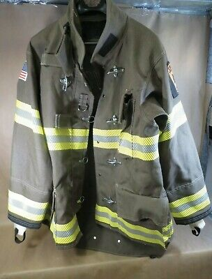 New Globe Firefighter Classix Jacket Turnout Gear Size 44 Mfg. 22018
