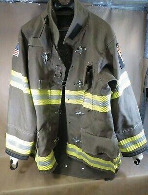 New Globe Firefighter Classix Jacket Turnout Gear Size 44 Mfg. 22018