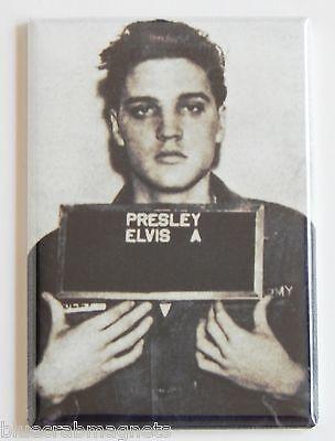 Elvis Presley Mug Shot FRIDGE MAGNET (2 x 3 inches)
