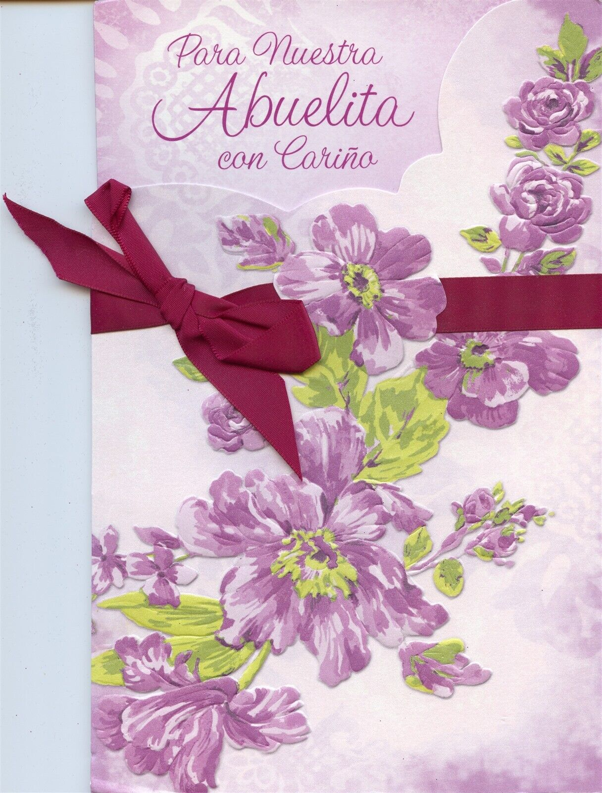 ag spanish mother's day card grandmawe have a