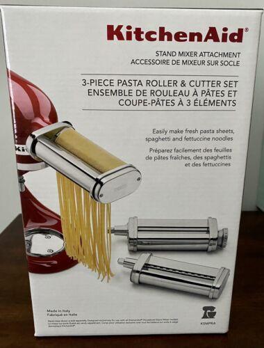 *NEW* kitchen-aid stand mixer attachment 3-piece pasta rolle