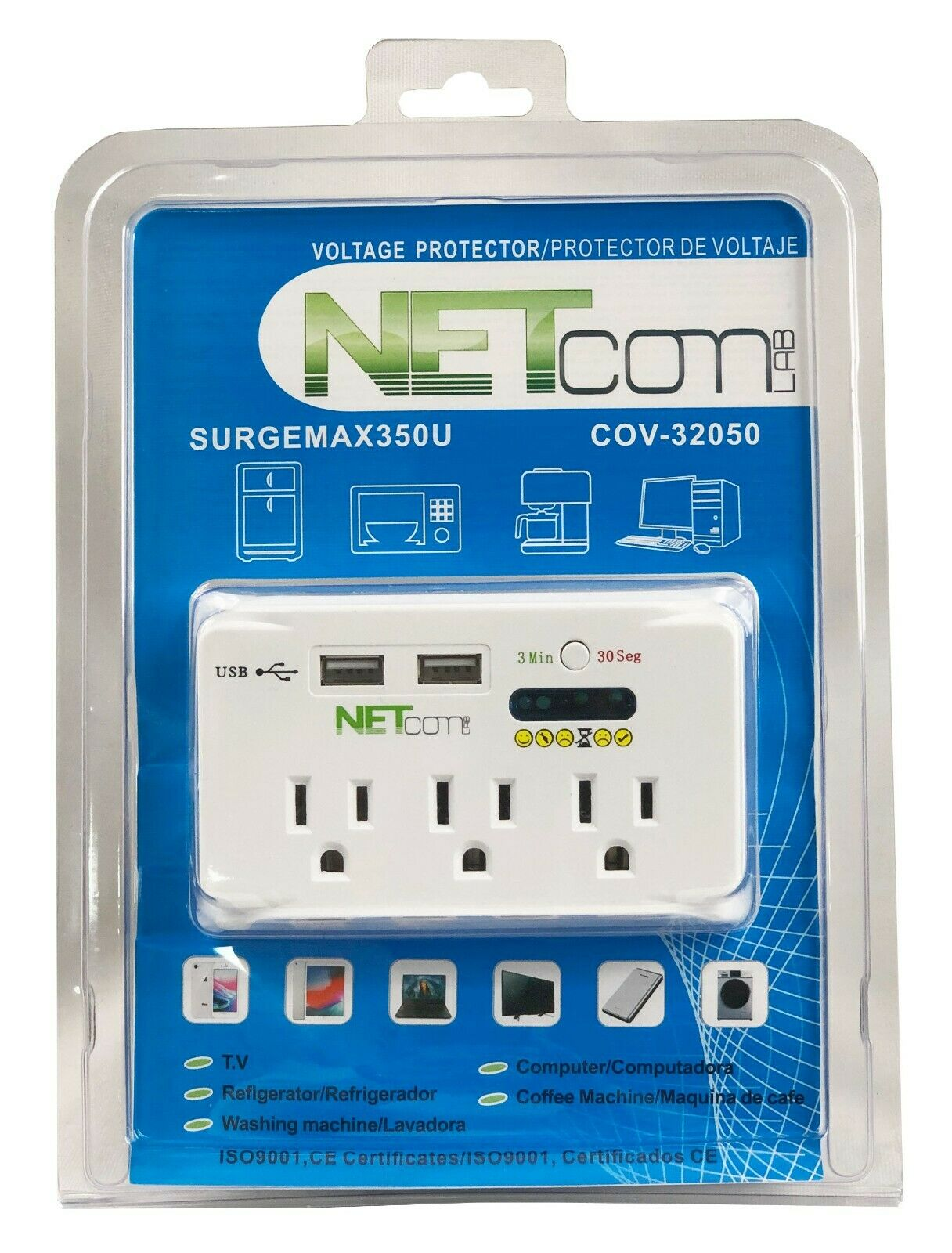 Surge Protector for Domestic Refrigerator , Air Conditioners & Appliances