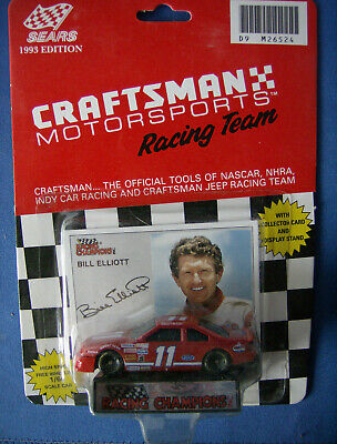 Collectible #11 Craftsman Motor Sports Bill Elliot 1993  1:64th Nascar