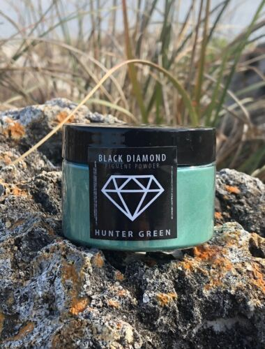 BLACK DIAMOND 42g/1.5oz Mica Powder Pigment - Hunter Green
