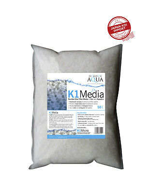 Evolution Aqua K1 Filter Media - 50L. Japan Koi Import