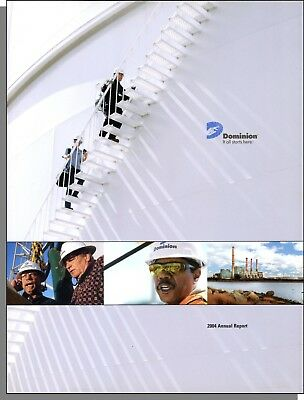 Dominion Resources Inc 2004 Annual Report   Very Good Condition