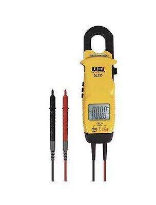 Uei Test Instruments Dl220 Cativ Clamp-on Metervoltage Tester