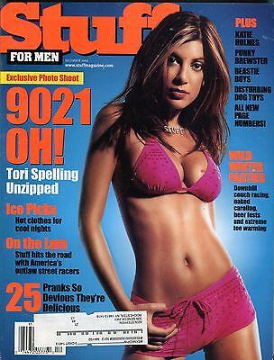 Stuff Magazine December 2000 Tori Spelling Ex W Ml 101216Jhe