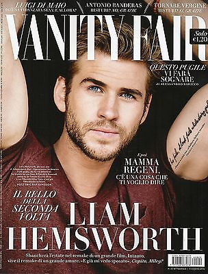 Vanity Fair 2016 22#Liam Hemsworth,Antonio Banderas,Mariela Garriga,Amanda Lear
