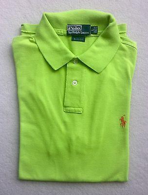 226c26fa6125b Ralph Lauren Slim Fit Mesh Polo Short For Men/ Green Size M