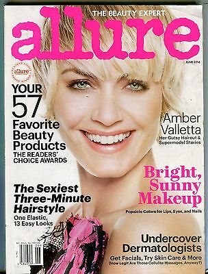 Allure Magazine June 2014 Amber Valletta Ex No Ml 101416Jhe