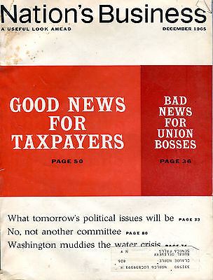 Nations Business Magazine December 1965 Good News For Taxpayers Ex 081116Jhe