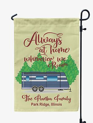 Printtoo Camping Flags Personalized Outdoor Garden Flags Camp Decor-BTT-PRCM219B ()