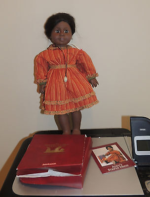 "18 "" AMERICAN GIRL pleasant company ADDY   in Retired Striped Dress"