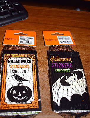 Estate=Halloween Sticker Books containing 136 Mini Stickers in Each Set-10 BOOKS](Halloween Mini Books)
