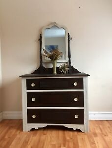 Antique Dresser - Solid Wood