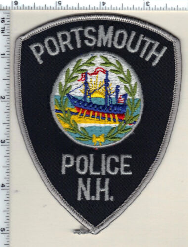 Portsmouth Police (New Hampshire)  Shoulder Patch  - new from 1989