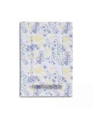 Maria Sheet Set - Bluebellgray Maria 100% Cotton Sateen MULTI BLUE YELLOW  4 Piece Queen Sheet Set