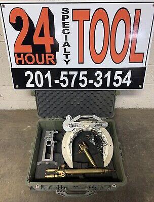 Mathey Dearman 1sa Manual Saddle Pipe Beveling Machine 3-8 Victor Torch