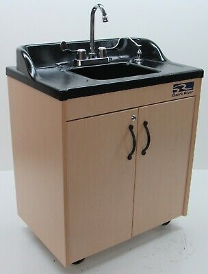 New Ozark River Lil Premier Portable Child Height Hot Water Hand Sink Nsf School