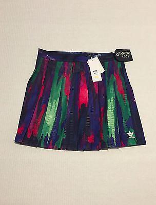 adidas Pharrell Williams Camo Pleated Mesh Tree Skirt Womens Size S