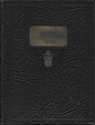 SHANANDOAH COLLEGE YEAR BOOK ZYNODOA 1928 VIRGINIA BLACK AMERICANA ILLISTRATIONS