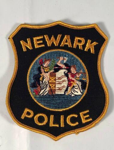 Nice Large NEWARK NEW JERSEY Police Patch