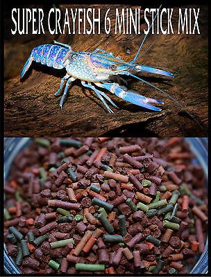 - GOURMET MINI 6 STICK CRAYFISH MIX,Shrimp,Earthworm,Krill,Spirulina,Veggie,Fish