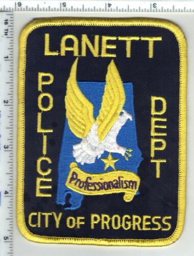 Lanett Police (Alabama) 2nd Issue Shoulder Patch