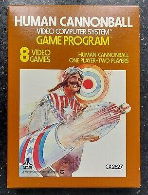 Human Cannonball - Atari 2600 VCS - New & Sealed!