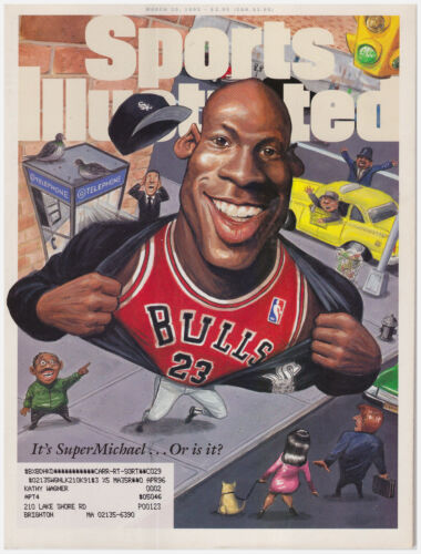 Sports Illustrated March 20, 1995 It's SuperMichael...Or is it? Michael Jordan