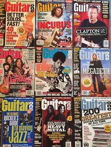 Guitar One magazines with CD