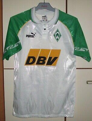 Werder Bremen 1995 - 1996 Home football shirt jersey trikot Puma size XS image