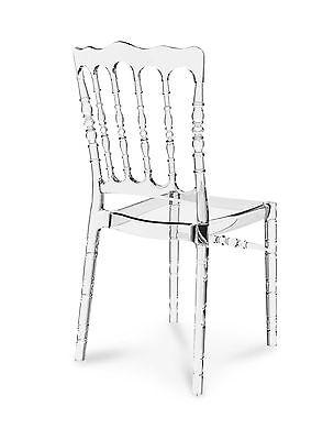 s Vintage Hochzeit Stuhl Transparent Klar Durchsichtig. NEU (Hochzeit Stühle)