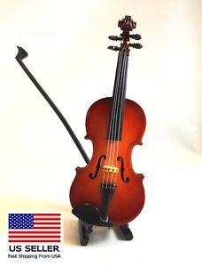 Miniature Wood Violin or Viola, 5.5