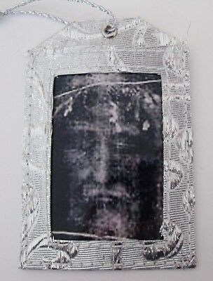 New Shroud of Turin Face of Jesus Religious Christmas Ornament ()