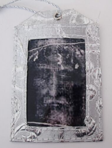 New Shroud of Turin Face of Jesus Religious Christmas Ornament