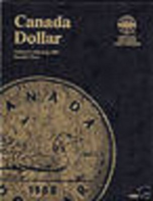 Canada Dollar Whitman Folder 1987-2008 with 4 Unmarked Slots