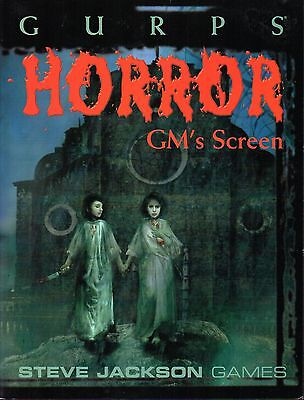GURPS-HORROR GM´S SCREEN-RPG-Steve Jackson Games-very rare